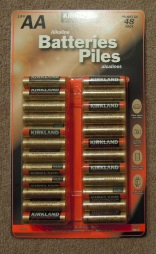 コスコで売っている電池パック