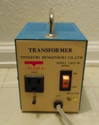 アメリカ 変圧器