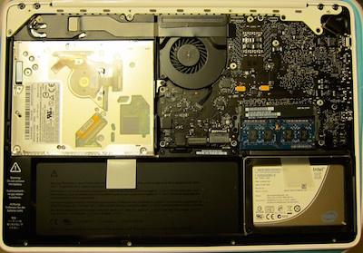 Mac Book MC516 8GB メモリ 増設