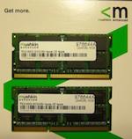 MacBook MC516 メモリ増設 8GB
