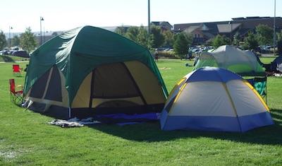 コロラド州 エリーのキャンプイベント