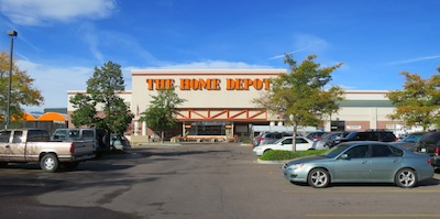 Home Depot アメリカの店