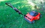 アメリカの庭の芝刈り
