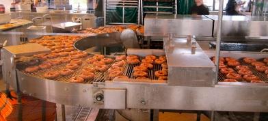 Krispy Kreme 店内