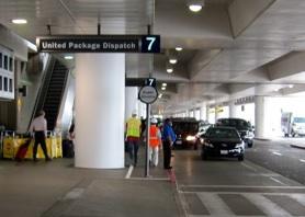 ロサンゼル空港