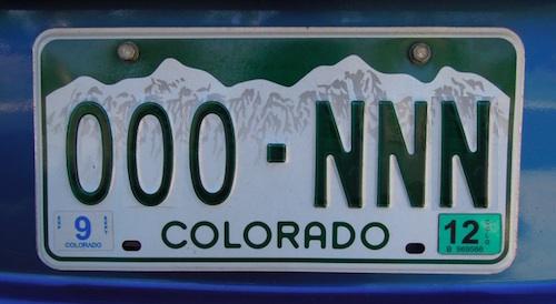 アメリカの自動車ライセンスプレート ナンバープレート