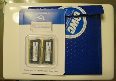 Mac Book 16GB メモリ 増設