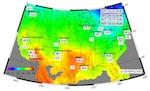 アメリカの気温の変化