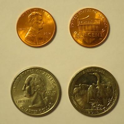 クオーターと1セント Penny Maker ペニーメカー