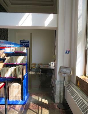 アメリカの郵便局