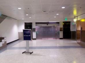 シアトル空港 ユナイテッド航空ラウンジ