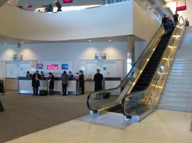 サンフランシスコ空港 ANA ターミナル