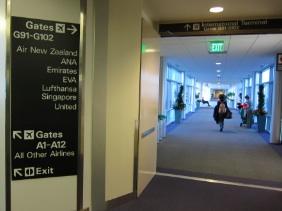 サンフランシスコ空港 国際ターミナル