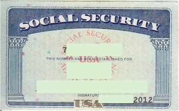 ソーシャルセキュリティカード