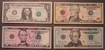 アメリカのコインとお札