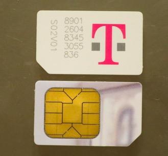SIM Catd 標準サイズ T-mobile