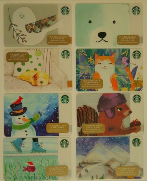 Starbucks ギフトカード 2016年 Holiday