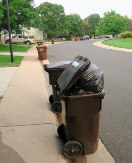 アメリカのゴミ収集