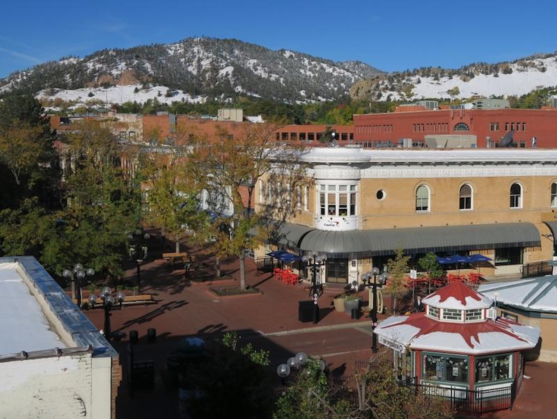 Boulder CO ダウンタウン 2017年10月