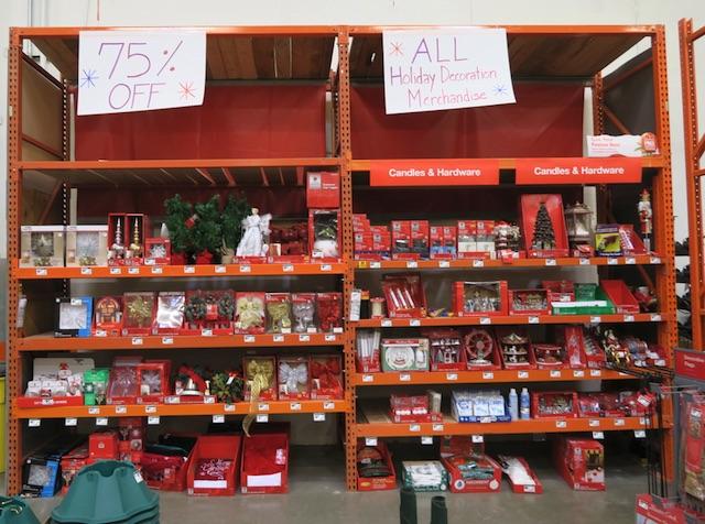 クリスマス商品のセール Home Depot 70%引き 2017年