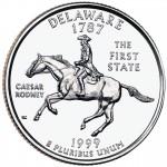 25セント デラウェア州