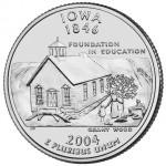 25セント アイオワ州