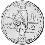 25セント イリノイ州
