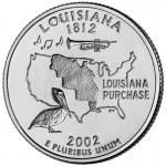 25セント ルイジアナ州