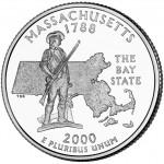 25セント マサチューセッツ州