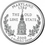 25セント メリーランド州