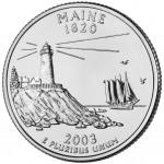25セント メーン州