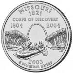 25セント ミズーリー州