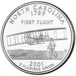25セント ノースカロライナ州