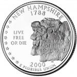 25セント ニューハンプシャー州