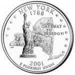 25セント ニューヨーク州