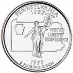 25セント ペンシルバニア州