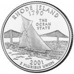 25セント ロードアイランド州