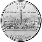 25セント ユタ州