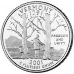 25セント バーモント州