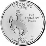 25セント ワイオミング州