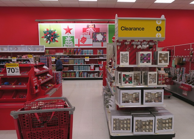 クリスマス商品のセール Target 70%引き 2017年