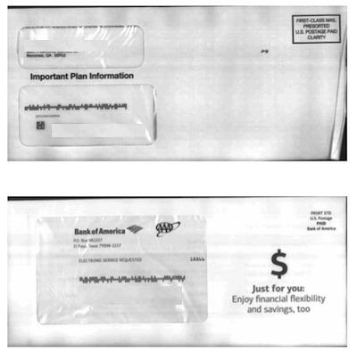 アメリカの郵便配達 事前スキャンeメールサービス