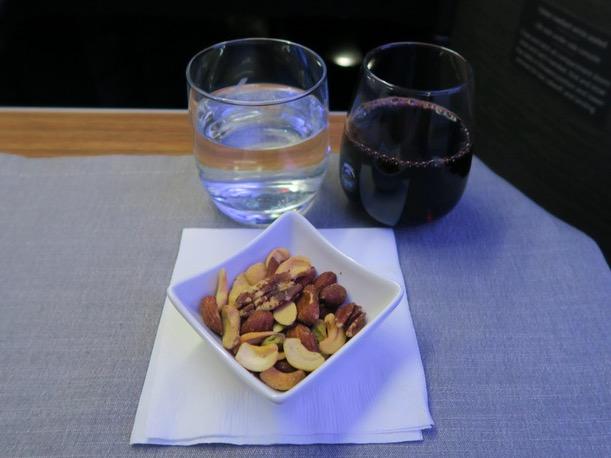 アメリカン航空のビジネスクラス ダラス 成田