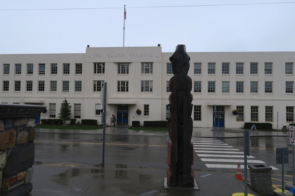 アラスカ鉄道 アンカレッジ駅