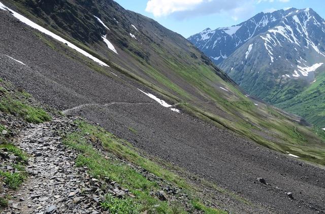 Crow Pass Trail アラスカ