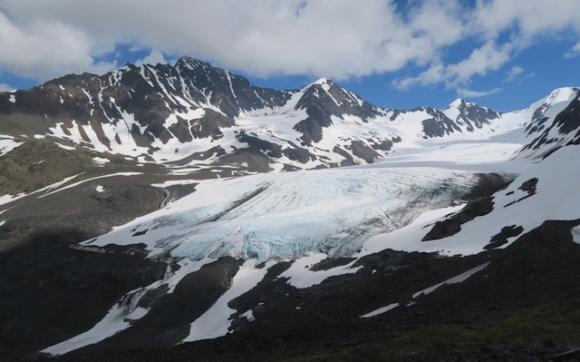 Crow Pass Trail 氷河
