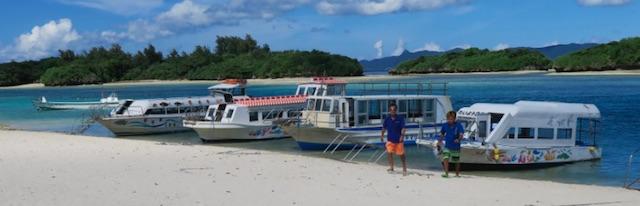 石垣島 川平 グラスボート