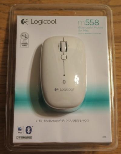 Mac Book 白に合う Bluetooth ワイヤレスマウス m558
