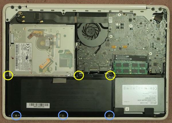 Mac Book 白 バッテリー 交換