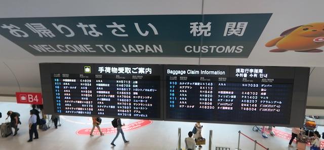 日本への夏の一時帰国